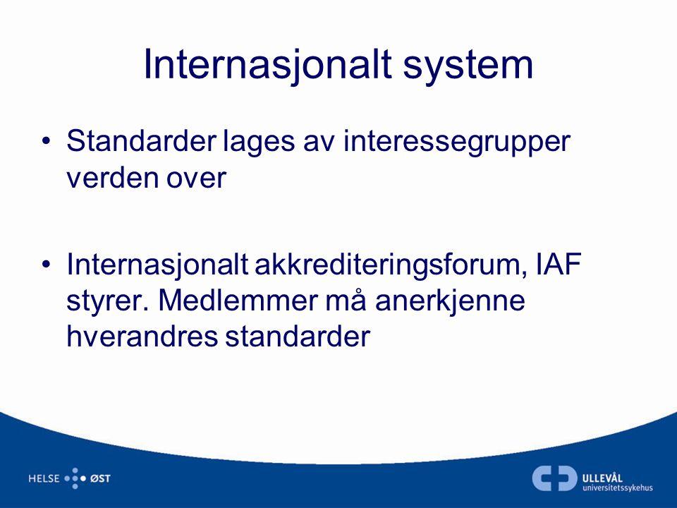 Internasjonalt system