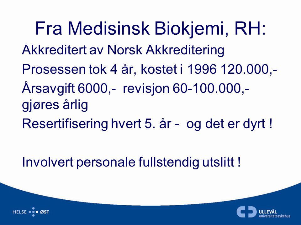 Fra Medisinsk Biokjemi, RH: