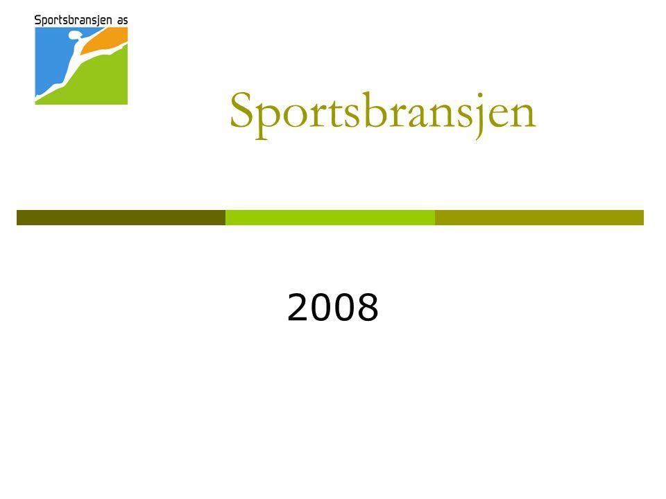 Sportsbransjen 2008