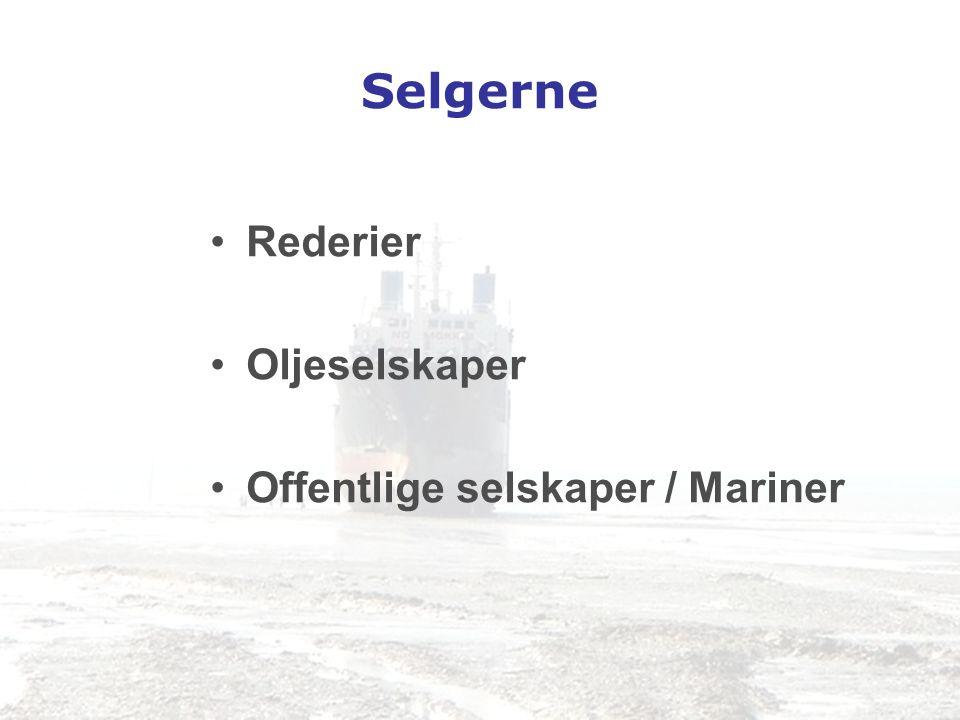 Selgerne Rederier Oljeselskaper Offentlige selskaper / Mariner