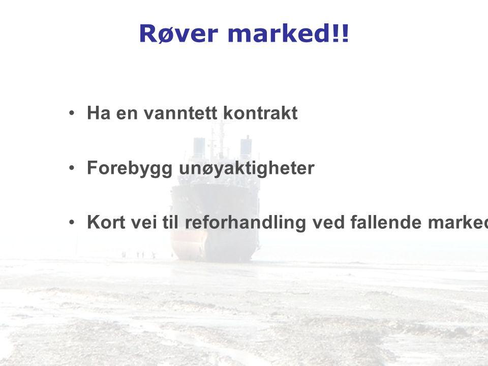 Røver marked!! Ha en vanntett kontrakt Forebygg unøyaktigheter