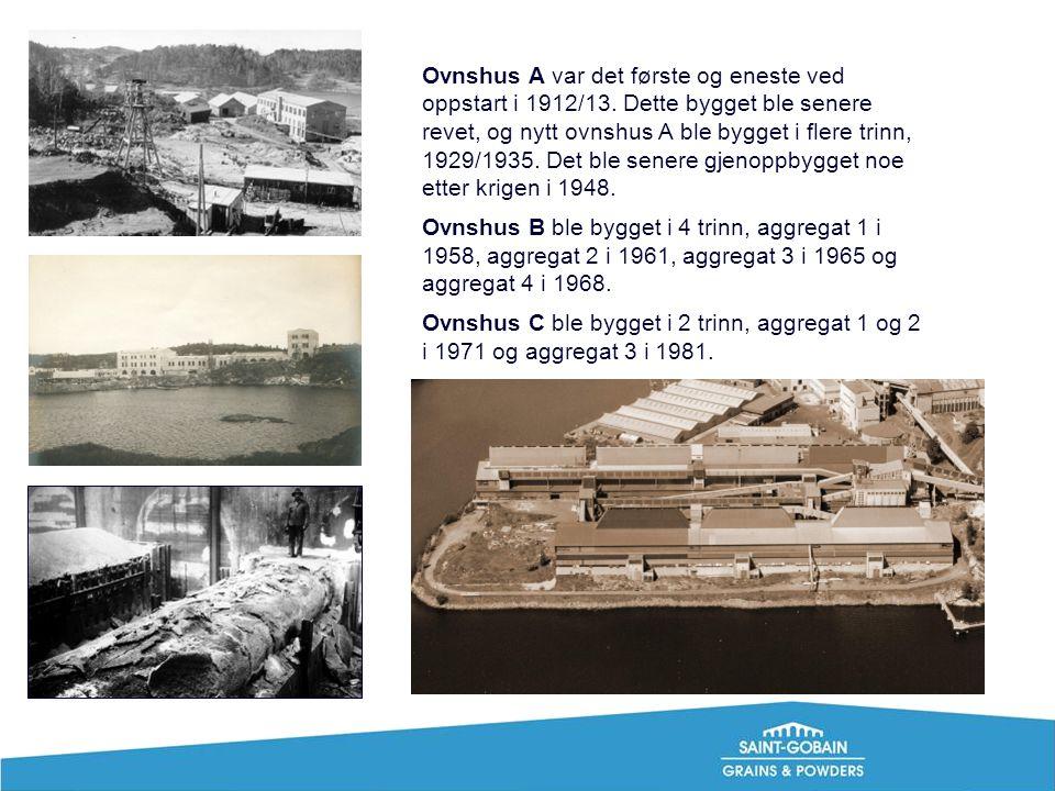 Ovnshus A var det første og eneste ved oppstart i 1912/13