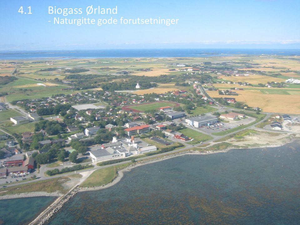 4.1 Biogass Ørland - Naturgitte gode forutsetninger