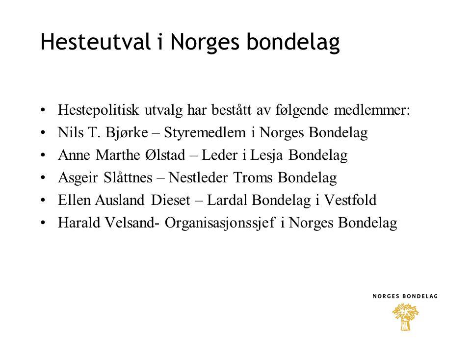 Hesteutval i Norges bondelag