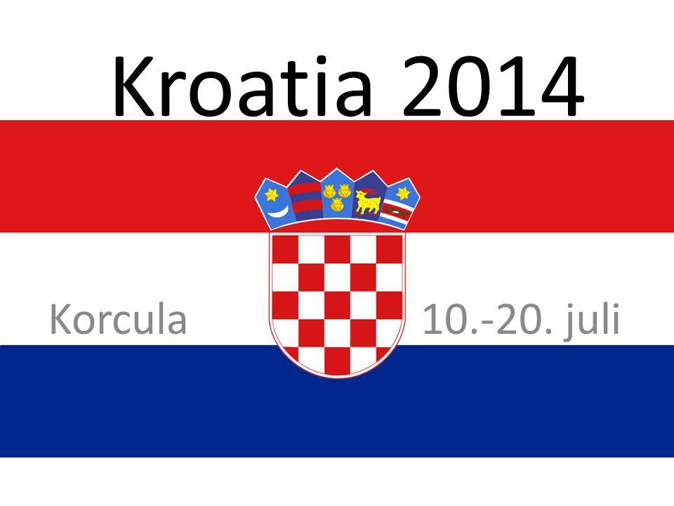 Kroatia 2014 Korcula 10.-20. juli
