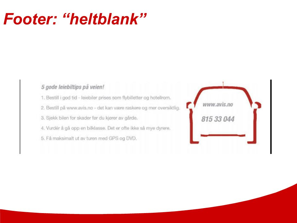 Footer: heltblank