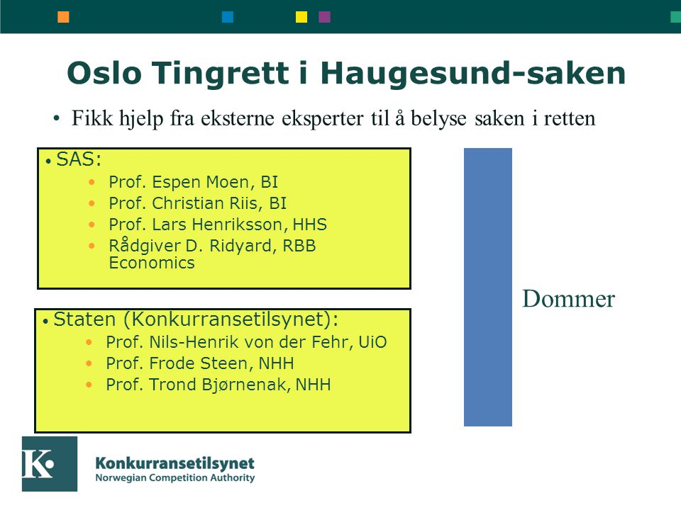 Oslo Tingrett i Haugesund-saken