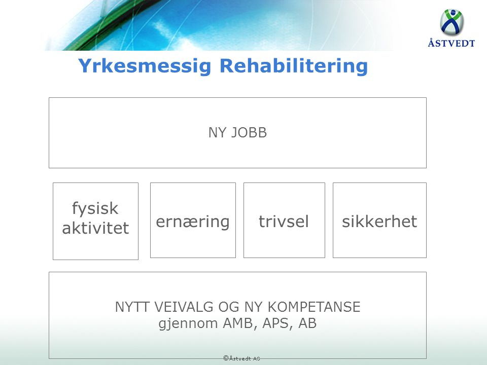 Yrkesmessig Rehabilitering