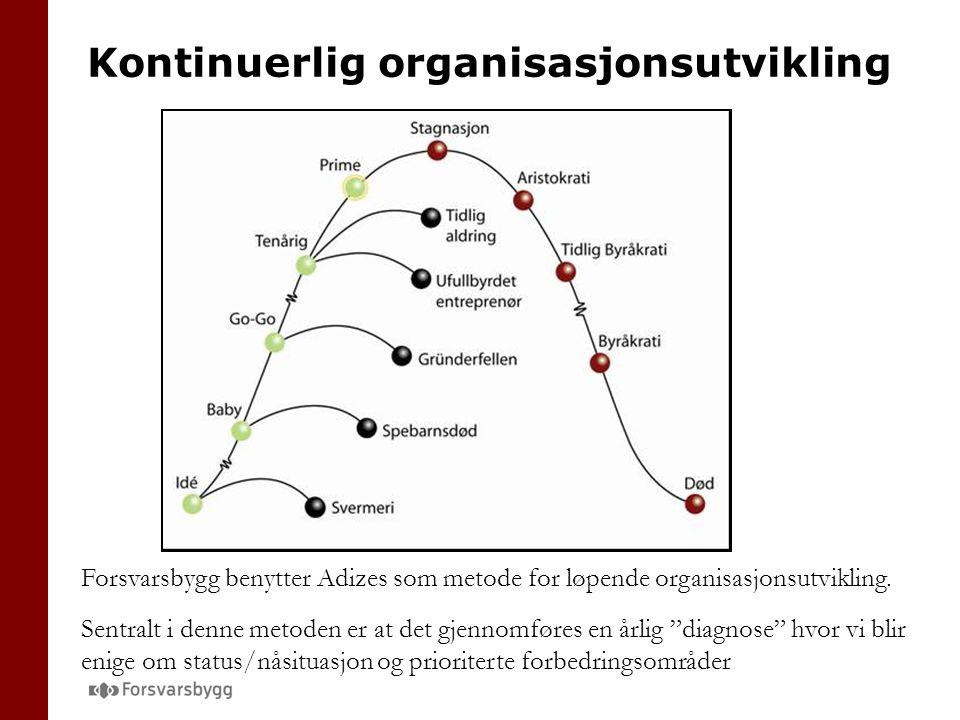 Kontinuerlig organisasjonsutvikling