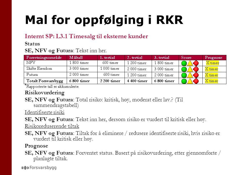 Mal for oppfølging i RKR