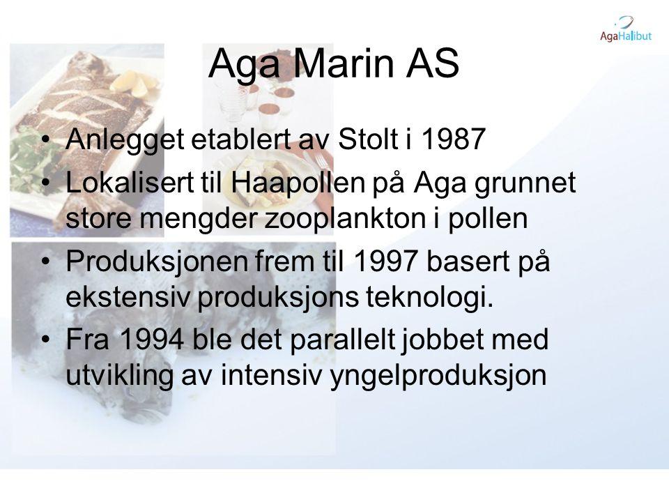 Aga Marin AS Anlegget etablert av Stolt i 1987