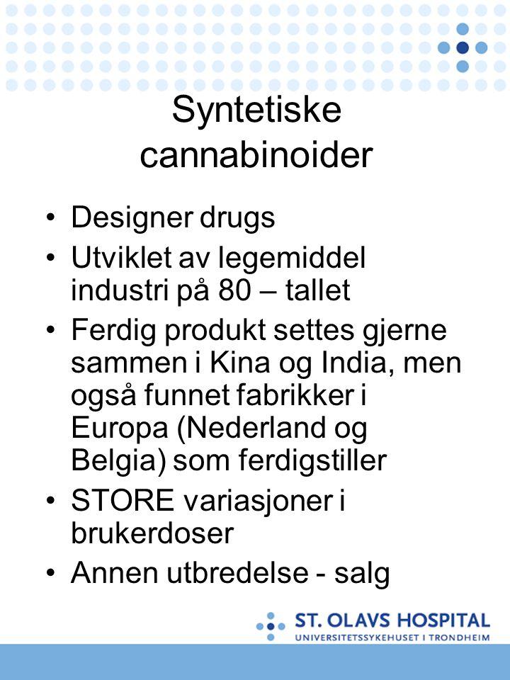 Syntetiske cannabinoider