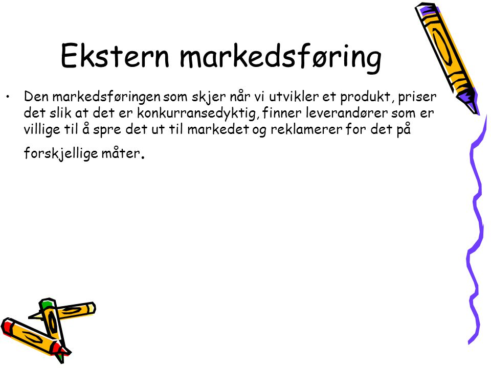 Ekstern markedsføring