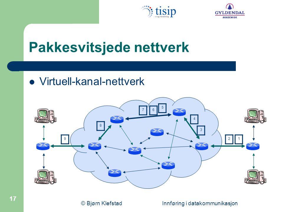 Pakkesvitsjede nettverk