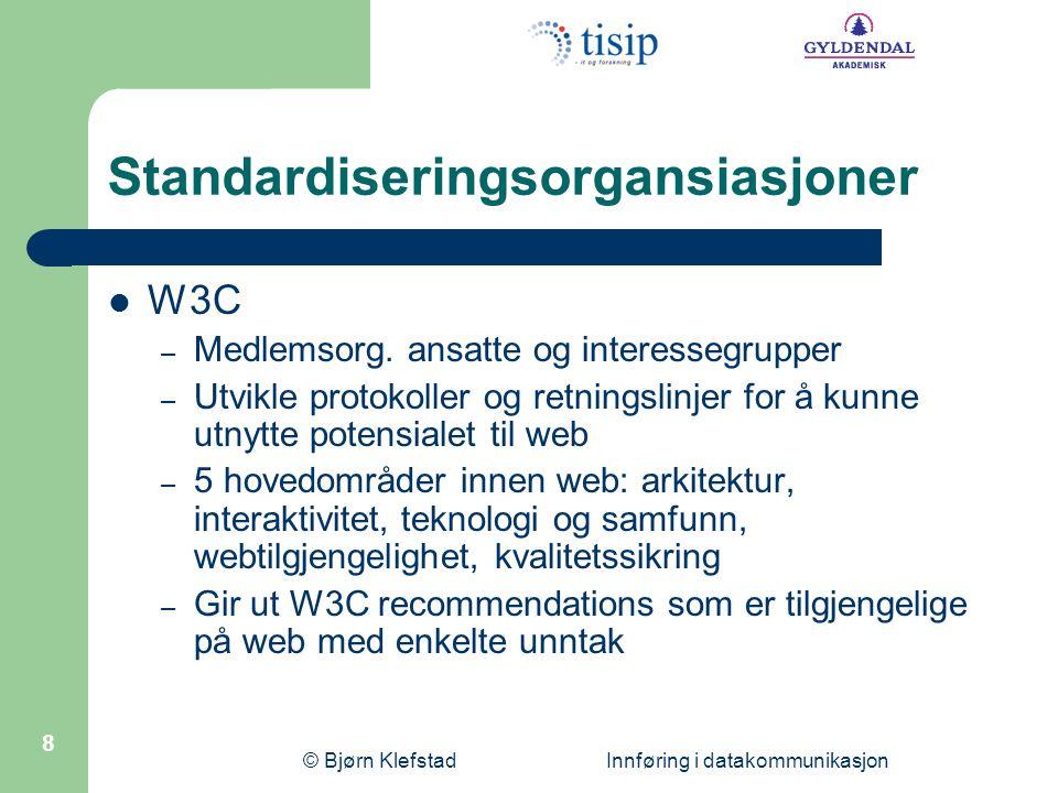 Standardiseringsorgansiasjoner