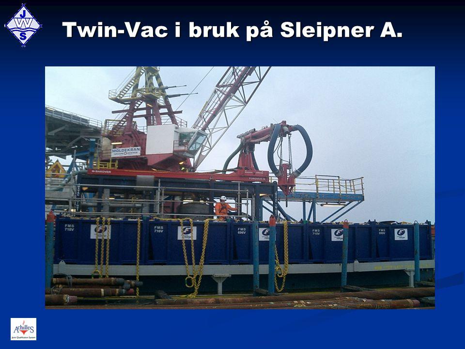 Twin-Vac i bruk på Sleipner A.