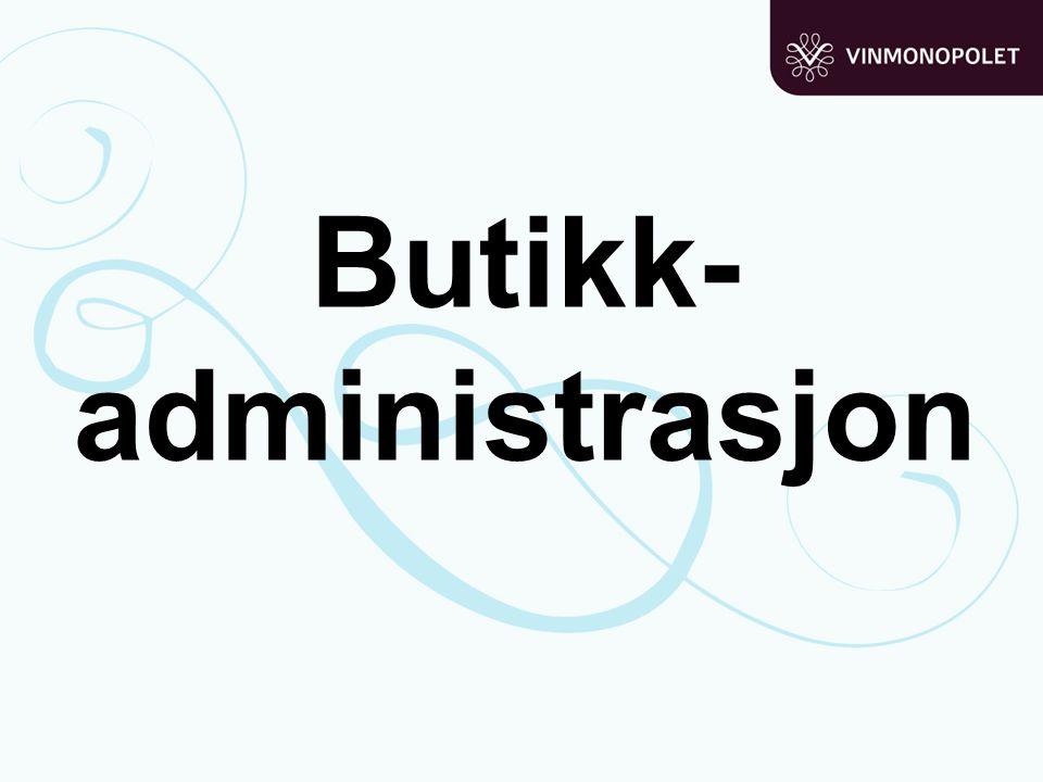 Butikk-administrasjon