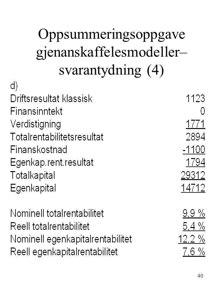 Oppsummeringsoppgave gjenanskaffelesmodeller– svarantydning (4)