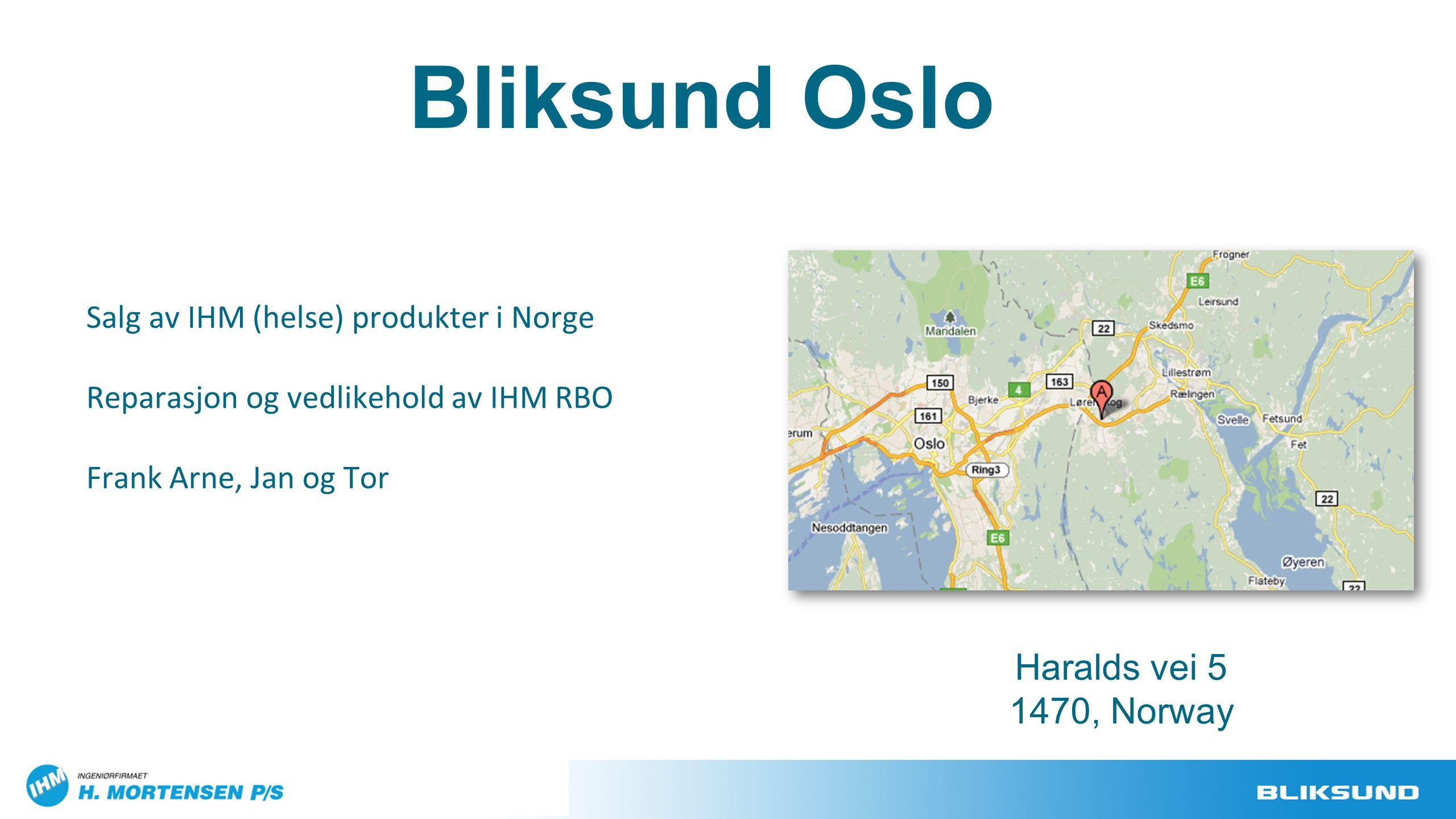 Bliksund Oslo Haralds vei 5 1470, Norway