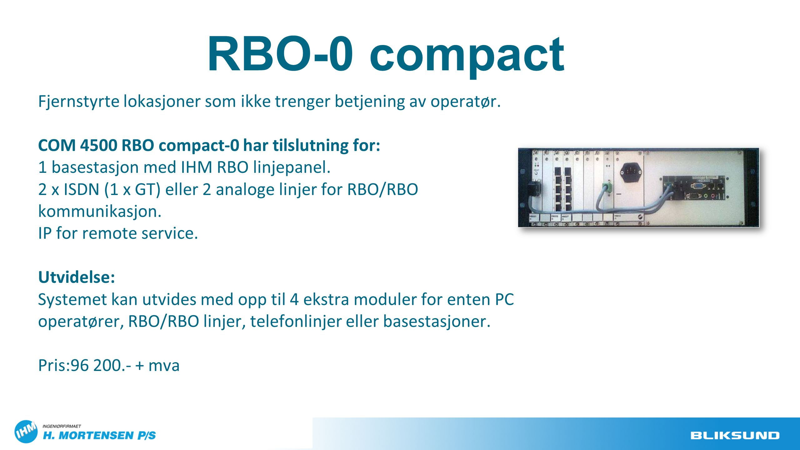 RBO-0 compact