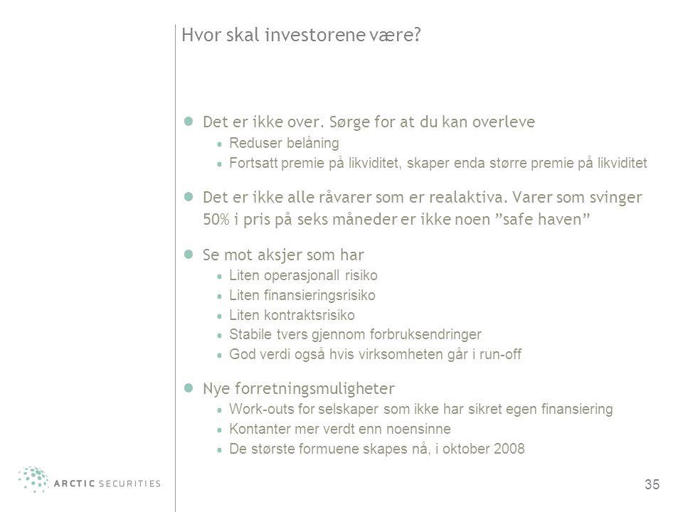 Hvor skal investorene være