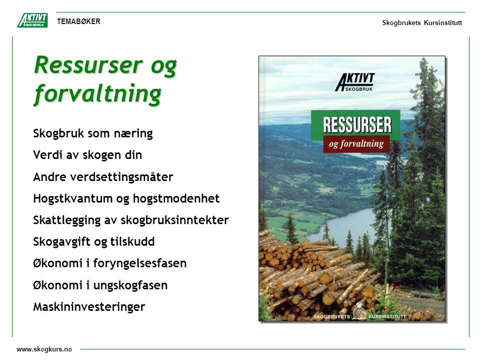 Ressurser og forvaltning