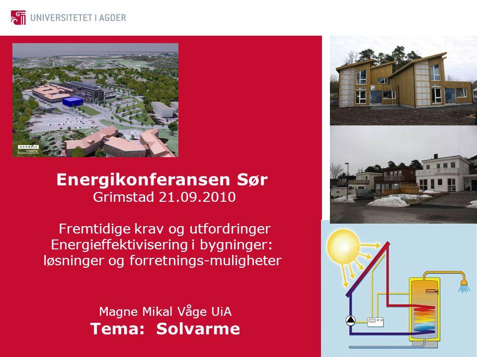 Energikonferansen Sør Grimstad 21. 09