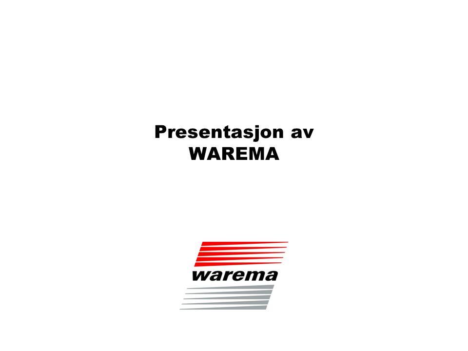 Presentasjon av WAREMA