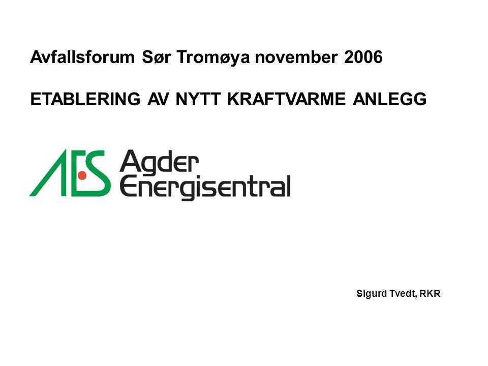 Avfallsforum Sør Tromøya november 2006