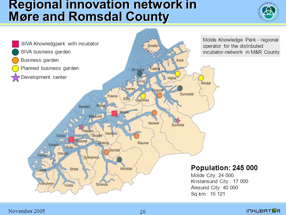 Regional innovation network in Møre and Romsdal County