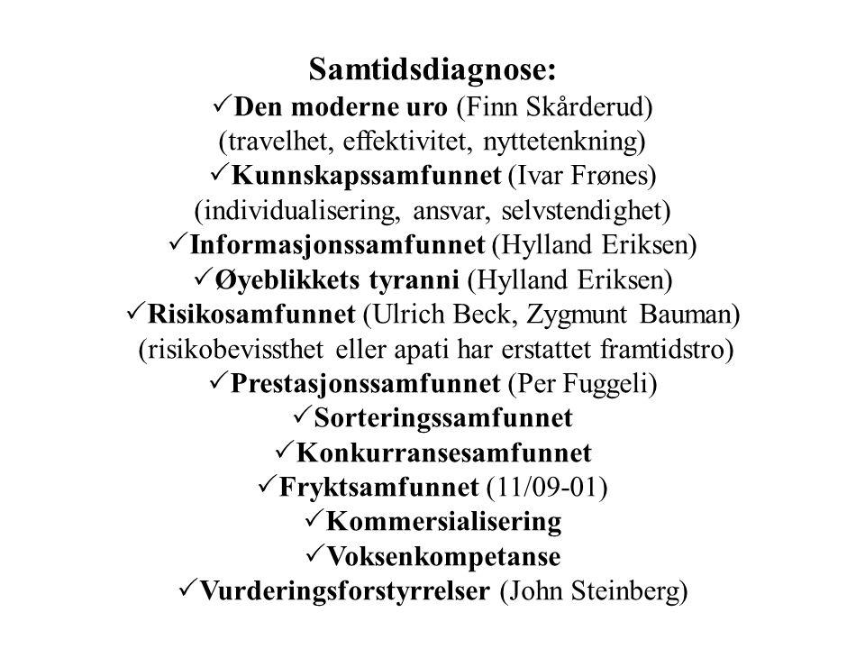 Samtidsdiagnose: Den moderne uro (Finn Skårderud)