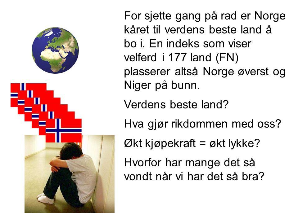 For sjette gang på rad er Norge kåret til verdens beste land å bo i