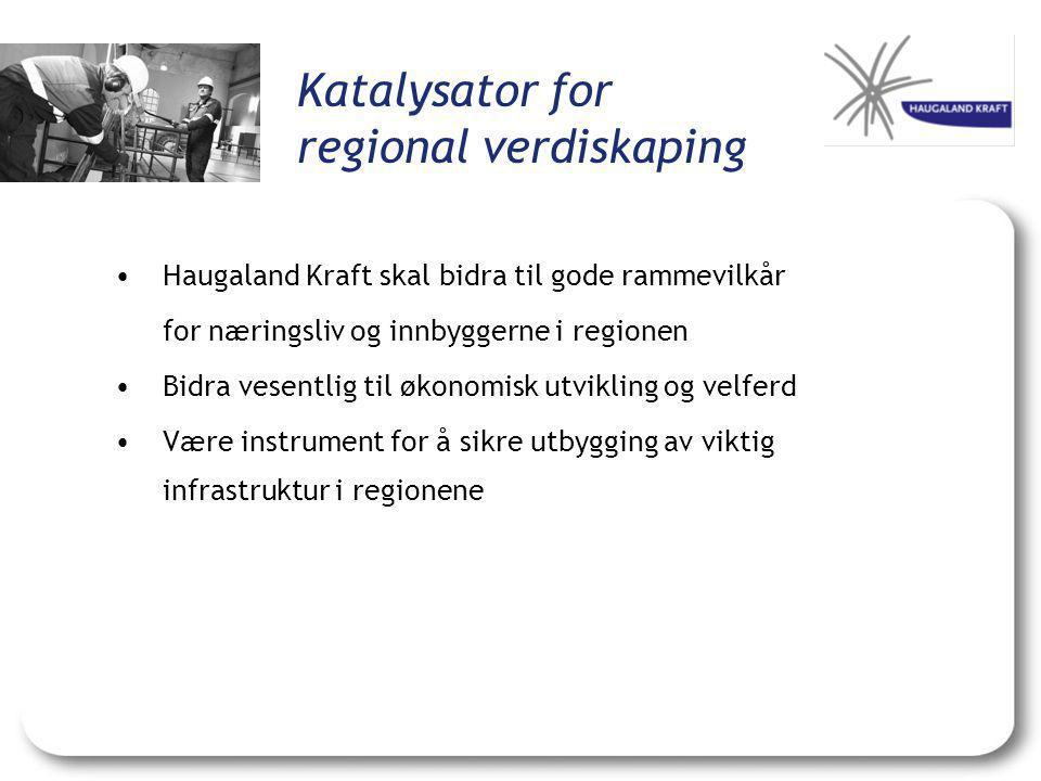 Katalysator for regional verdiskaping