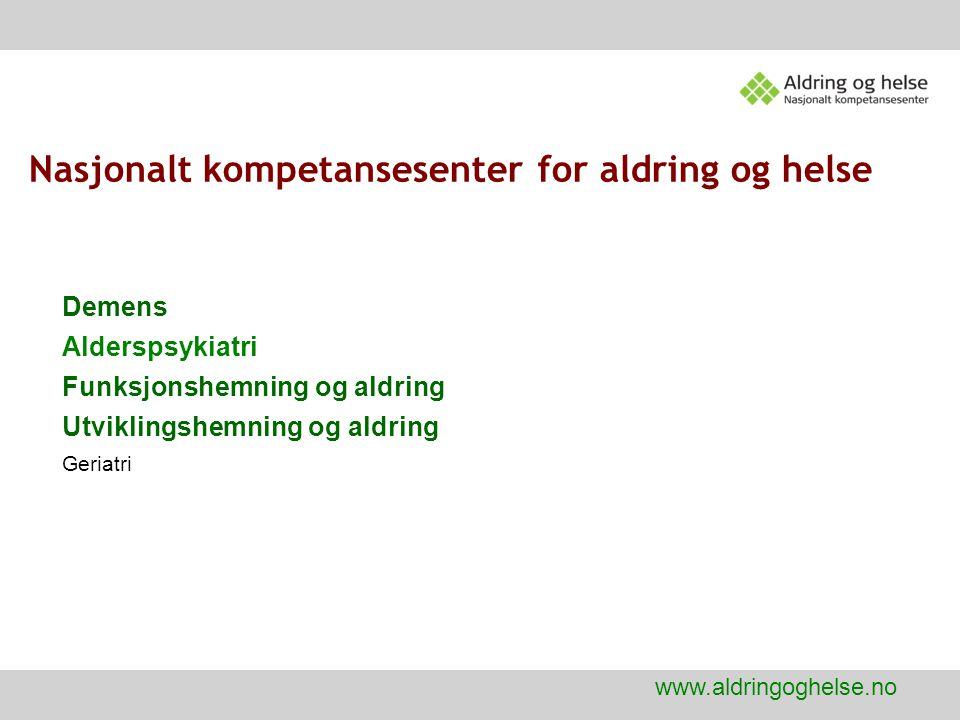 Nasjonalt kompetansesenter for aldring og helse