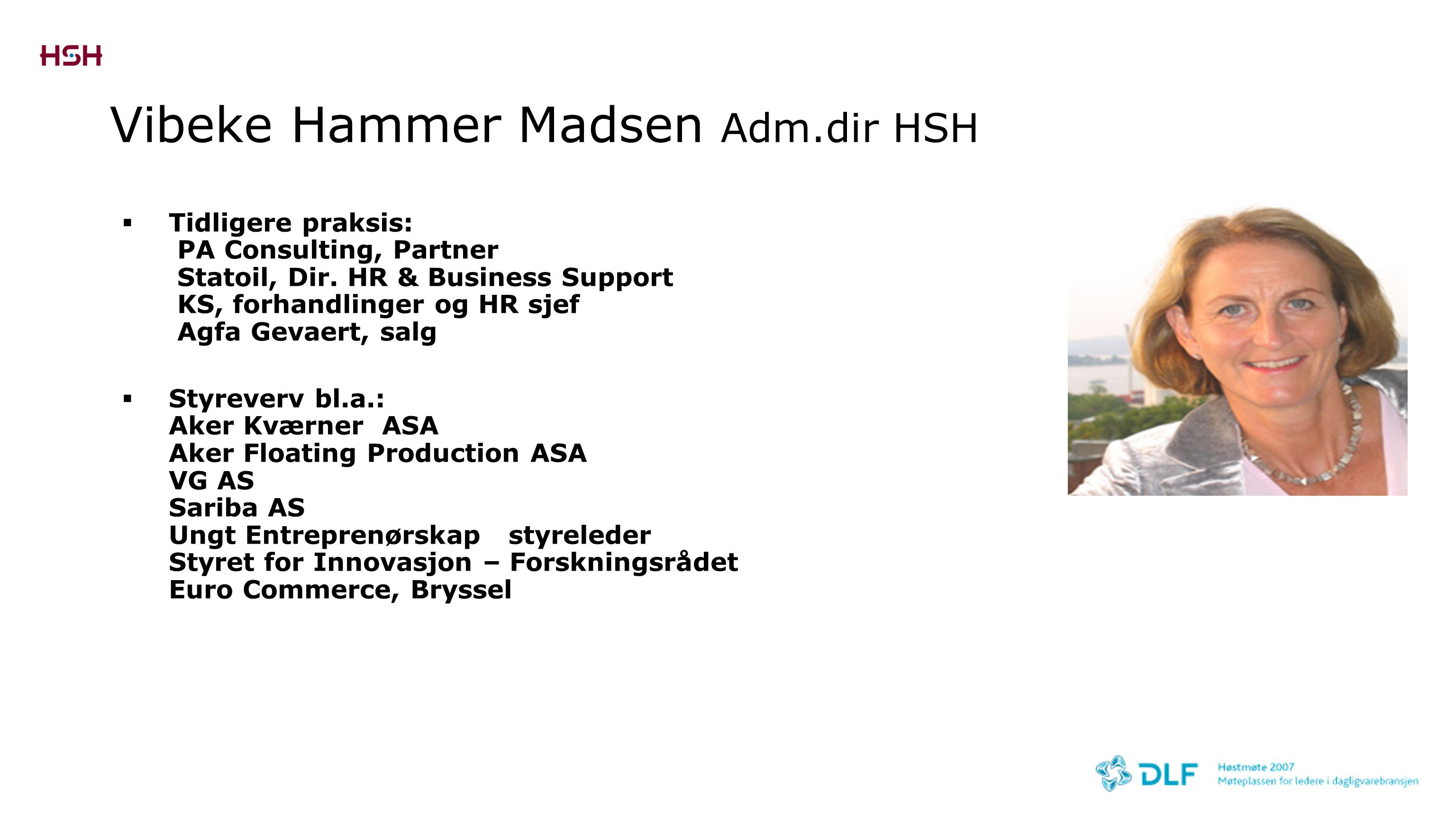 Vibeke Hammer Madsen Adm.dir HSH