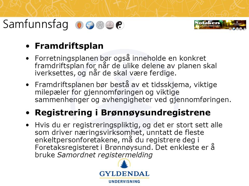 Registrering i Brønnøysundregistrene