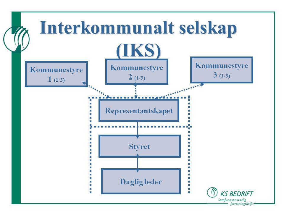 Interkommunalt selskap (IKS)