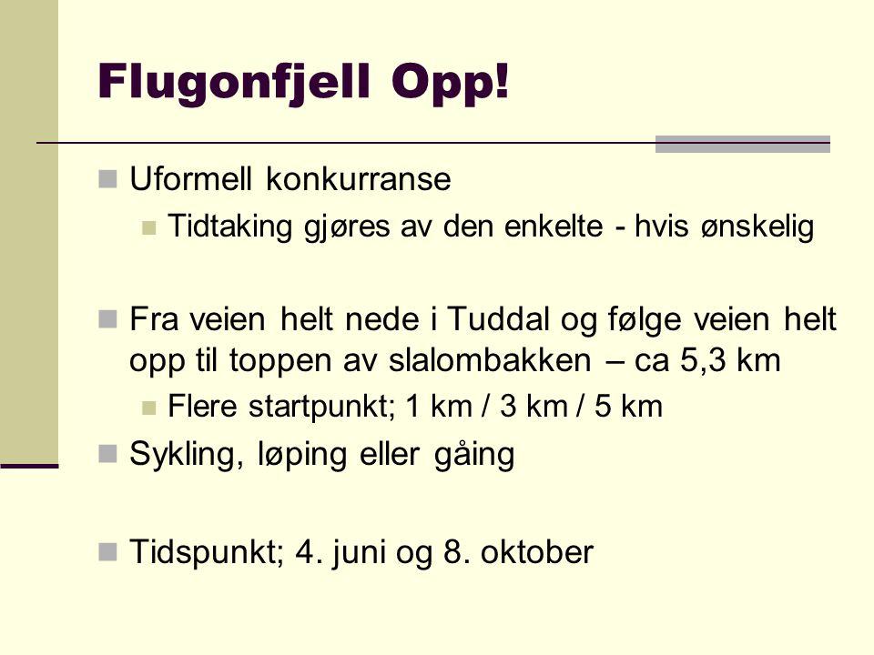 Flugonfjell Opp! Uformell konkurranse