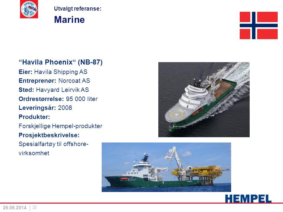 Marine Havila Phoenix (NB-87) Eier: Havila Shipping AS