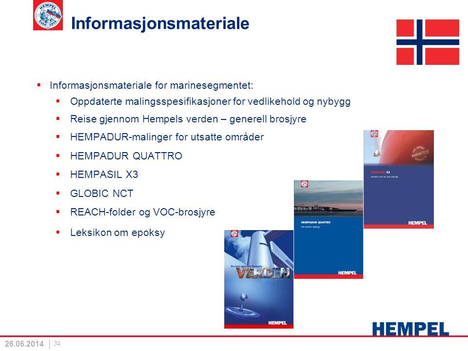 Informasjonsmateriale