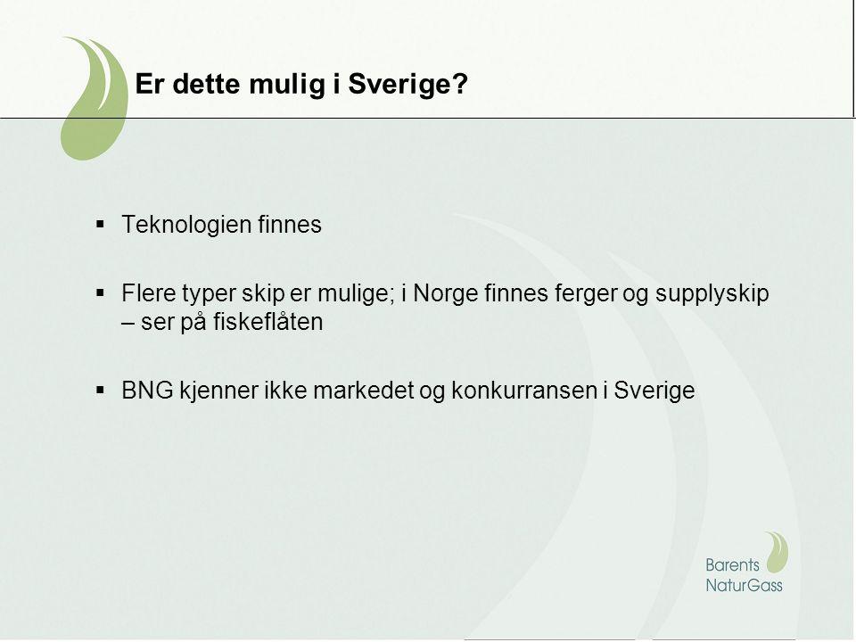 Er dette mulig i Sverige