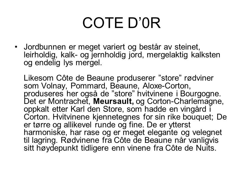 COTE D'0R