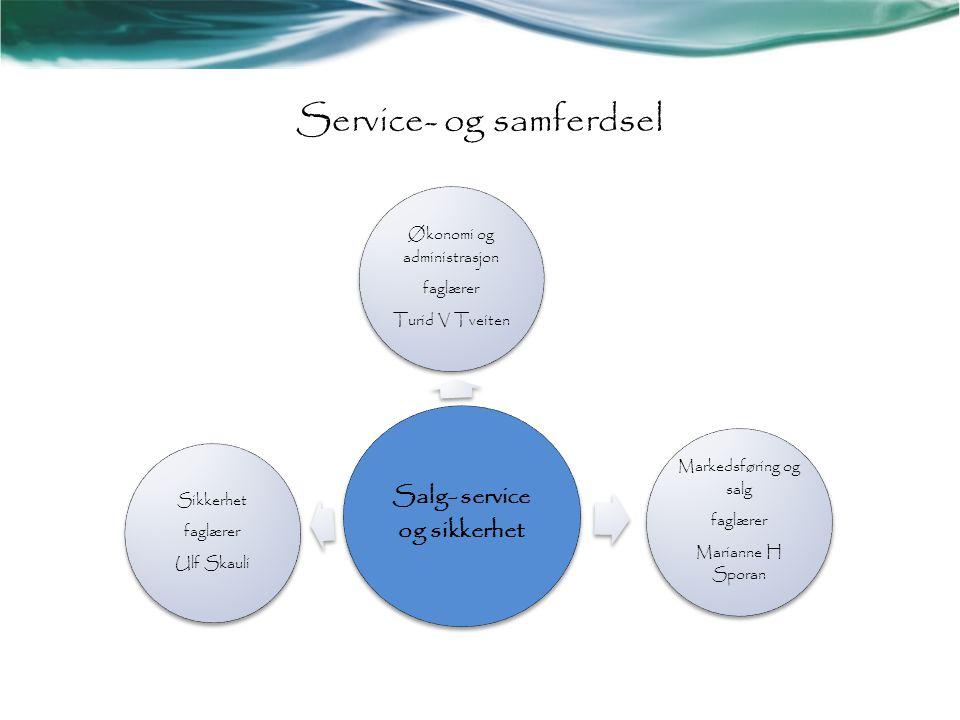 Service- og samferdsel
