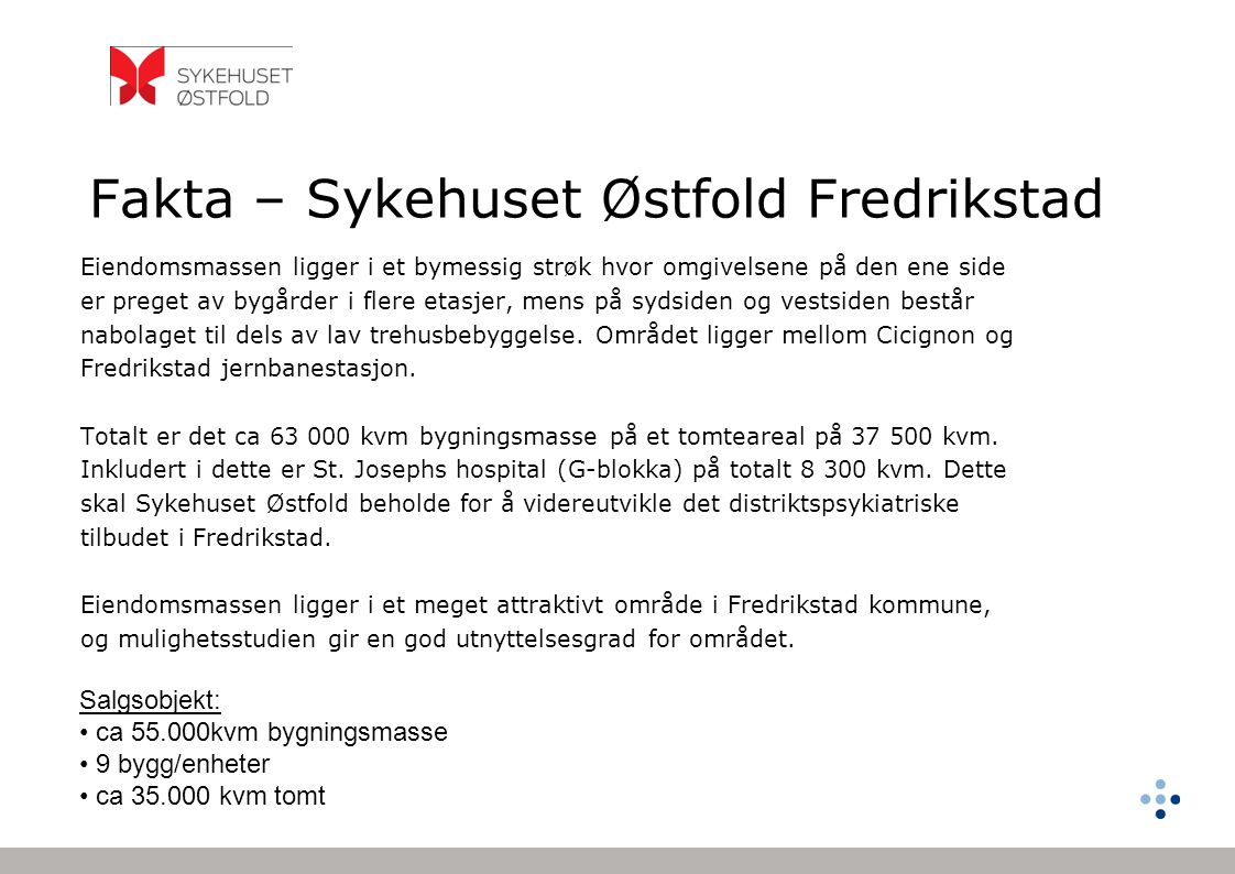 Fakta – Sykehuset Østfold Fredrikstad