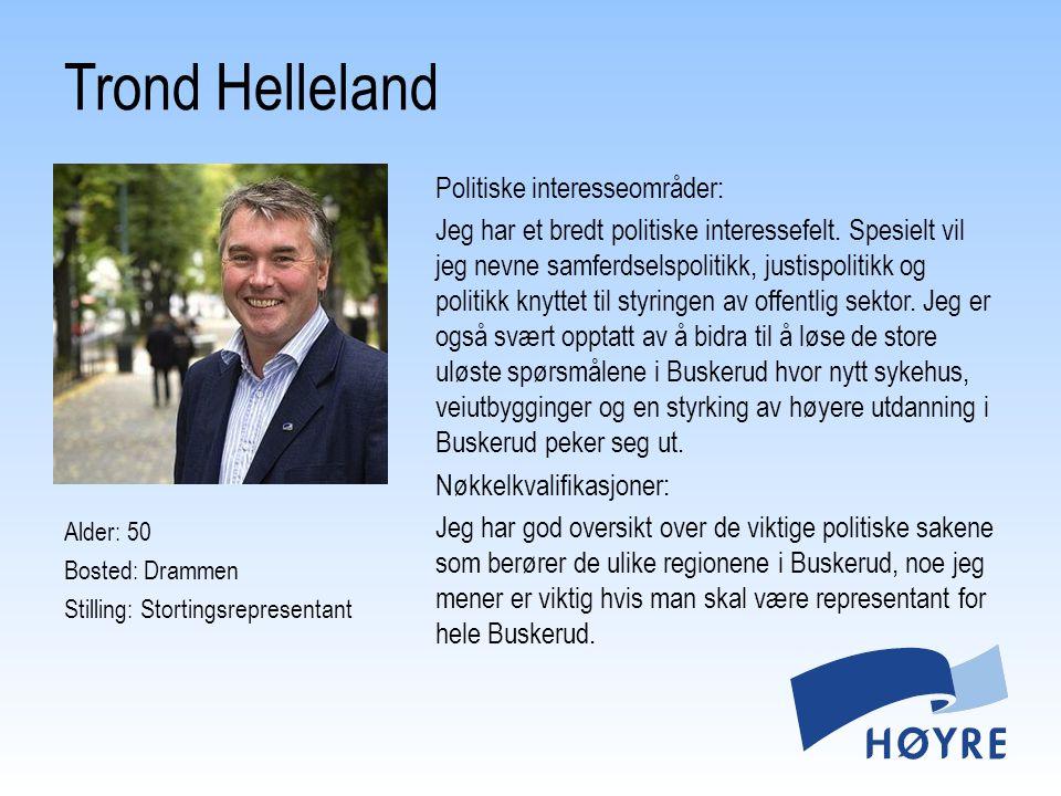 Trond Helleland