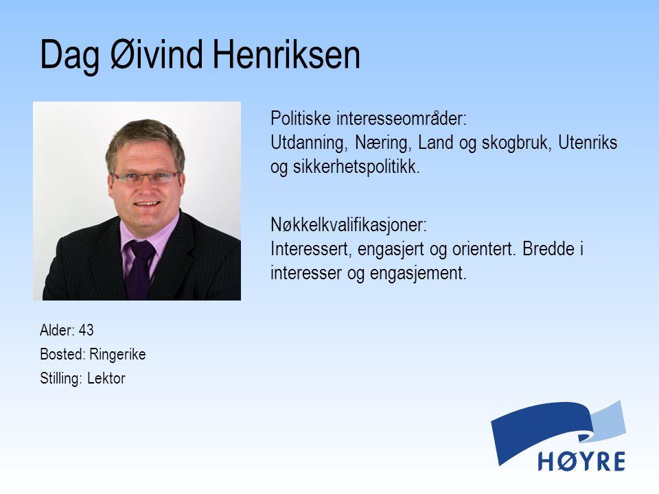Dag Øivind Henriksen