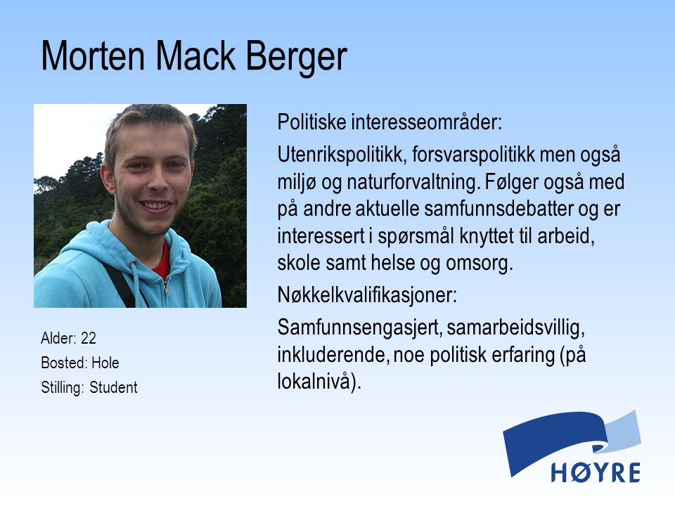 Morten Mack Berger