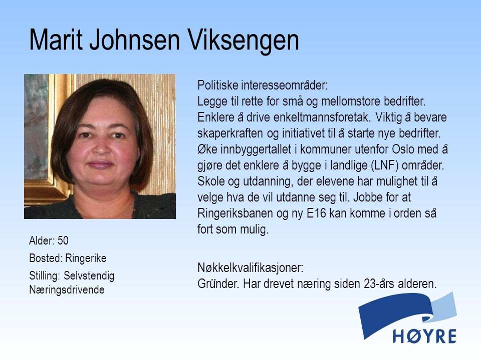 Marit Johnsen Viksengen