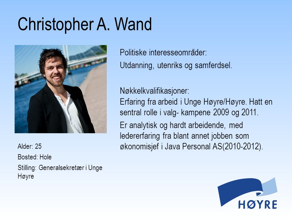 Christopher A. Wand