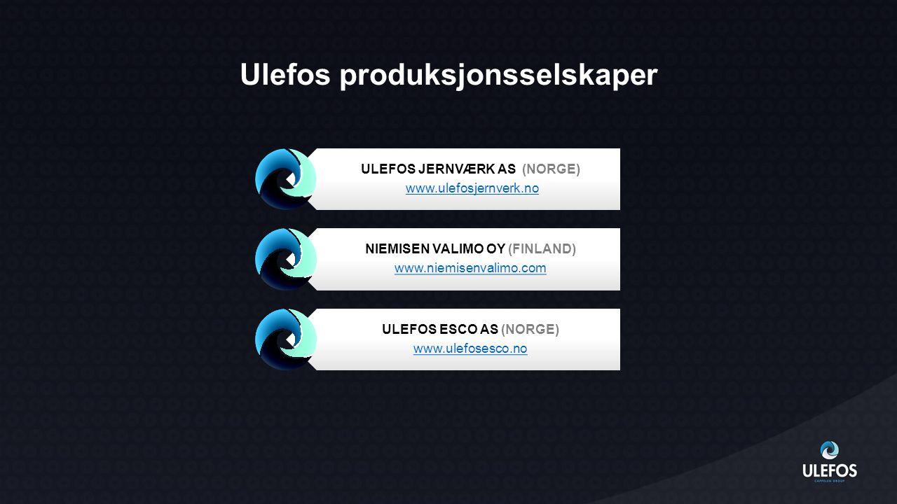 Ulefos produksjonsselskaper